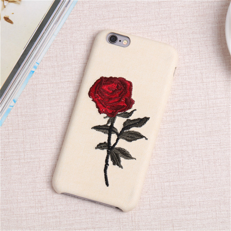 newest 1fe42 07402 Getihu Embroidery Rose Case For Iphone 7 Plus Cover Capa Coque For Iphone 7  Case 360 Degree Protection For Iphone 7 7plus - Buy For Iphone 7 ...