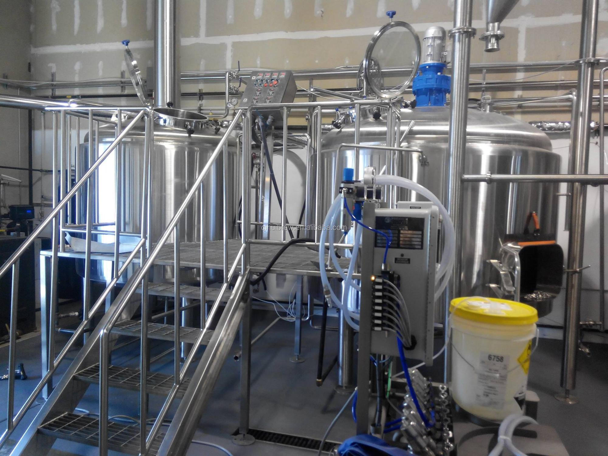 2BBL mini brewery equipment for pub or homebrewing