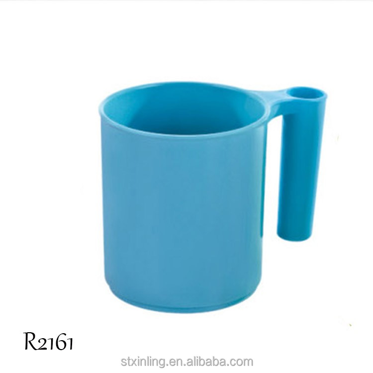 Portable Plastic Tooth Mug Toothbrush Holder Toothpaste Cup