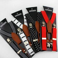 Children boys/girls Clip-on Adjustable Y-back Suspender Elastic belts straps braces Kids Suspenders