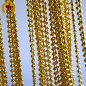 beautiful gold chain curtian room divider