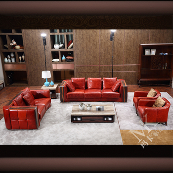 Maka 2017 Latest Pictures Of Red Leather Sofa Designs,3 2 1 Seater Sofa -  Buy Latest Leather Sofa,321 Seater Sofa,Red Leather Sofa Product on ...