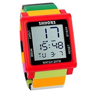 60368783475 Sports colorful toy block style LCD watches women men children wrist 7e7l7nz2 watch gift - This lv10a454n is additional title Brand Name: Nvoon Place of Origin: Guan