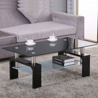 china wholesale Living Room Furniture good quality glass coffee table