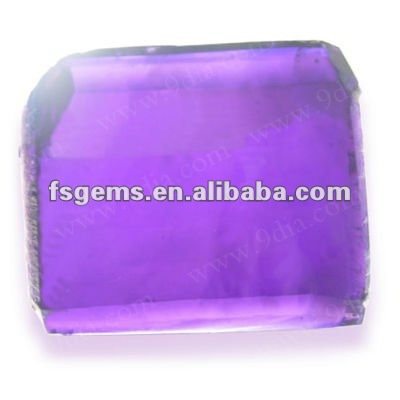 2018 Good Quality Lab Created Amethyst Gemstone Rough buyer Prices