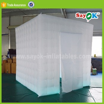 Movable Led Inflatable Booth Magic Mirror Led Inflatable Photo Booth