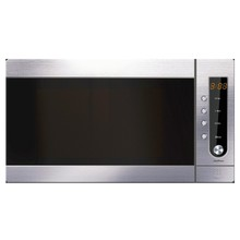 Home use stainless steel digital microwave oven with grill 900W 25L 0.8Cu.Ft