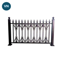 eco-friendly patio wrought iron fence