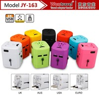 All-in-one Worldwide Travel Adapter, 2.5A USB plug Charge for Cell Phone