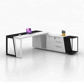 20m Latest Office Table Designs L Shape Modern Executive Office