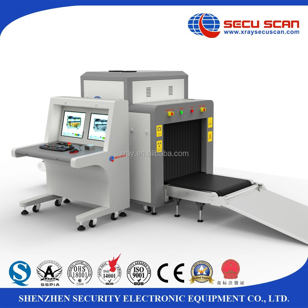 Airport X Ray Baggage Scanner At8065 X-ray Machine For Checking ...