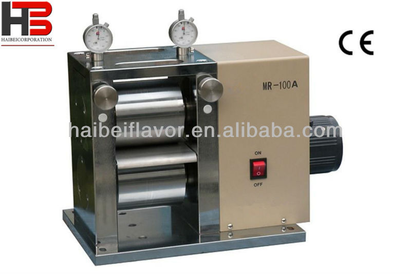 "Electric Precision 4"" Width Rolling Press with Dual Micrometer HB- MSK-HRP-MR100A"