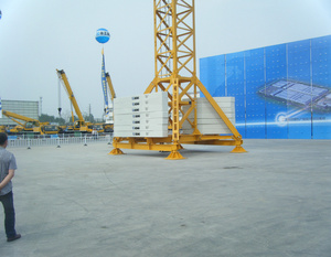 3 ton 5 ton 10 ton tower crane tie collar 6 ton 15 ton 20 ton chinese sale