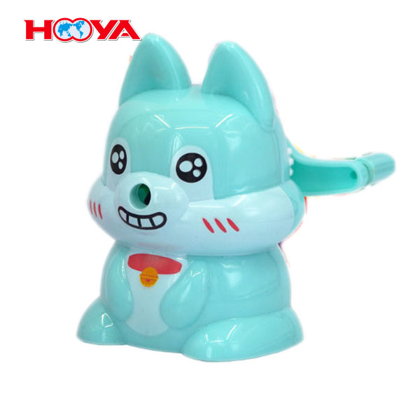 cute cat shape pencil sharpener with high quality and cheap price