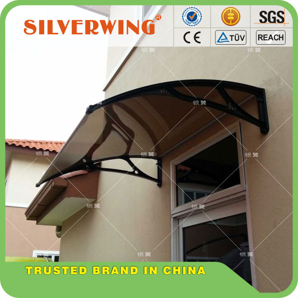 Environmental friendly window shelter with awning metal frame and aluminum awning parts for window awning or door canopy