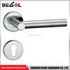 China manufacturer hollow type stainless steel residential door handle jiangmen