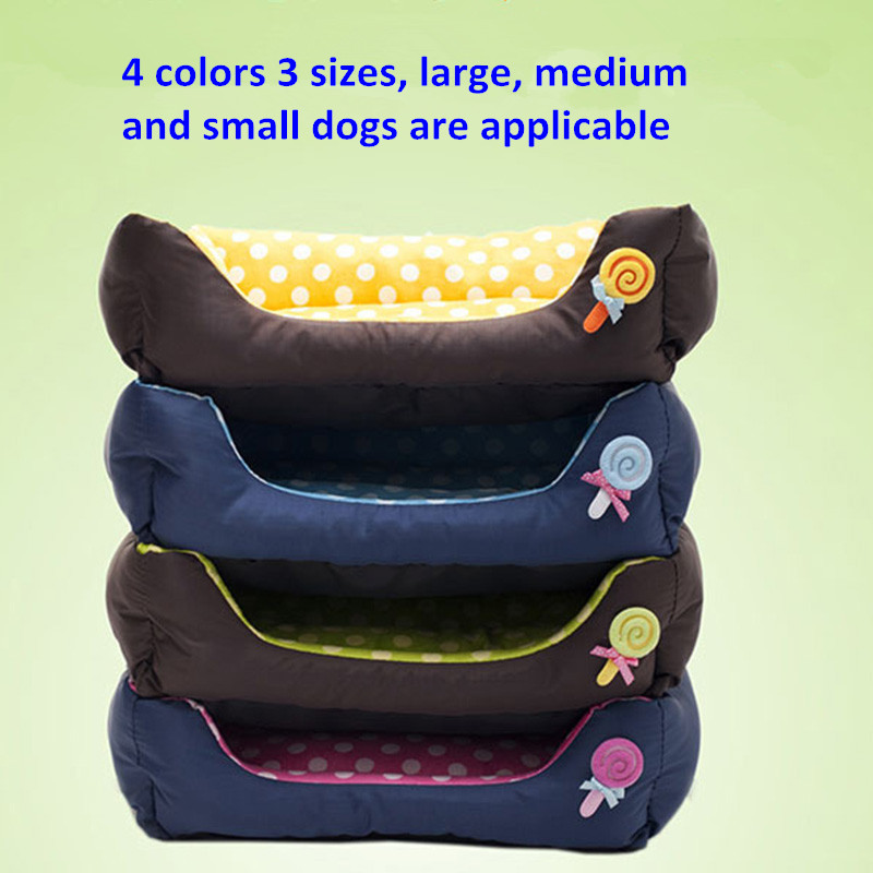Pet supplies factory direct The new high-grade fabric kennel pointed dog house cat and dog nest bed
