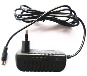 Power adapter input 100 240v ac 50/60hz 5v 2.5a plug in wall ac/dc power adapter
