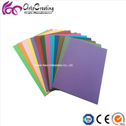 Best selling A4 size 180g colored origami construction paper/papel