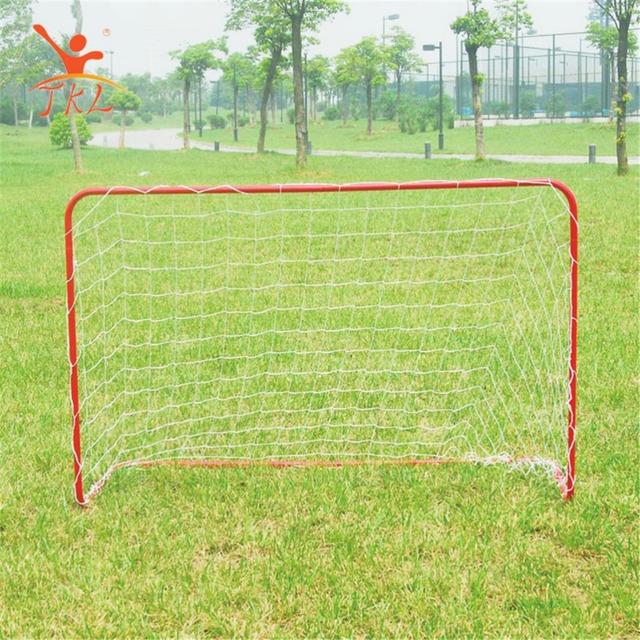 Customized Steel Mini Portable Indoor Soccer Goal Size
