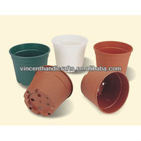 Plastic flower seedlings nursery supplies planter pot containers