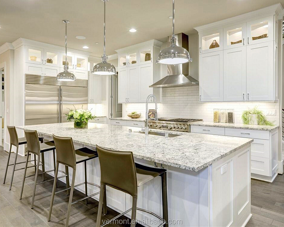 2019 Vermont New Modern White L Shaped Shaker Kitchen Cabinet Design With Island Buy 2019 Shaker Kitchen Cabinet Design White Shaker Kitchen