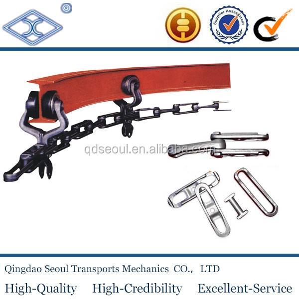 x678 easy lifting conveyor drop forge heavy iron chains for suspension conveyor