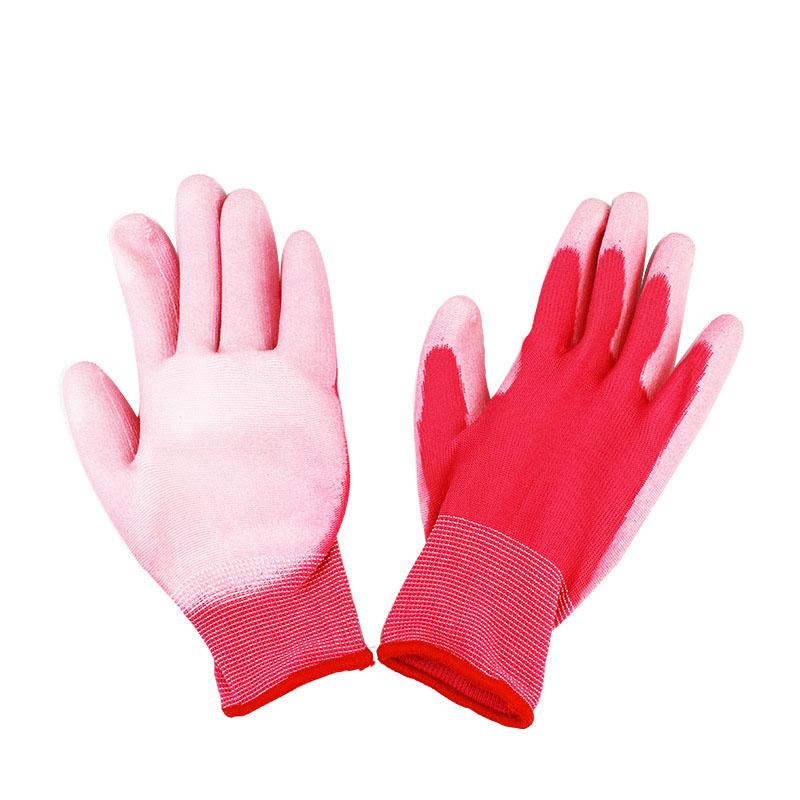 PU Garden Gloves waterproof work glove safety women garden gloves