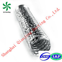 AS standard for chimney liners 8 inch aluminum flexible ducting smoke ventilation system