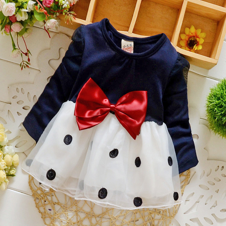 Hottest great quality wholesale China supplier baby girls nice color dresses of kid clothes aged 2-7 little kids clothes