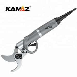 KAMAZ DM-045 orchard garden electric scissor with 36V 4.8AH Li battery for power pruning shear