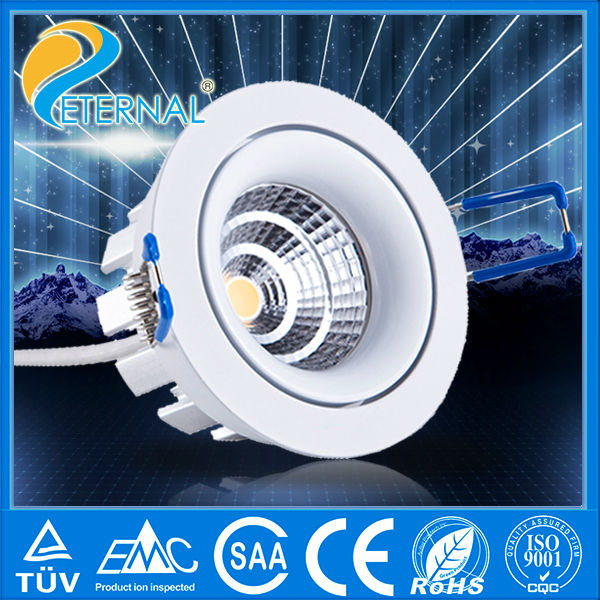 Super bright 9w Cree high power round led downlight price