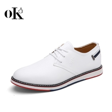 Casual shoes leather man shoes soft business shoes man