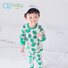 Q2-baby Wholesale China Branded Boutique Cute Baby Boy Clothes Set