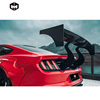 Carbon Fiber Rear Spoiler Wing Roof Wing ROBOT Craftsmrn style Car Accessories Body Kit for Mustang