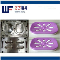plastic shower soap dish injection mould