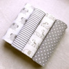 baby blankets striped / baby blankets super soft newborn / baby cotton bamboo blanket