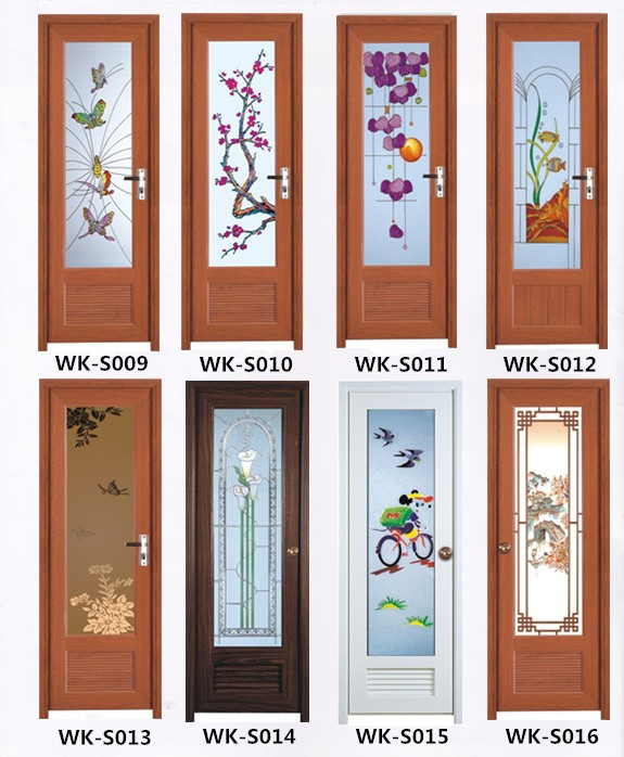 Wk S019 Pvc Toilet Door Pvc Bathroom Plastic Door Price Made In China Buy Pvc Bathroom Plastic