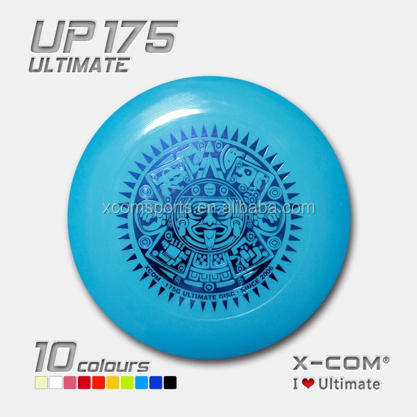 2016 X-COMSPORT 175 gram children game outdoor toys professional ULTIMATE DISC/custom ultimate frisbee discs/ High Quality