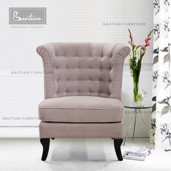 Long Back Sofa Chair For Living Room And Hotel