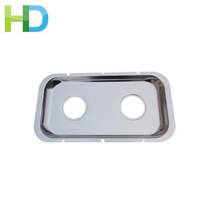 0.8 mm Thickness aluminium material led light reflector housing