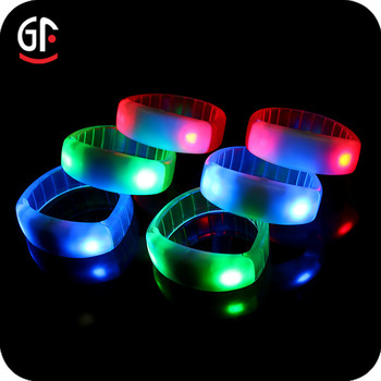 Party Giveaways Remote Control Radio Controlled Led Wristband Gf 7  Zones/groups - Buy Radio Controlled Led Wristband,Led Bracelet  Philippines,Glow In