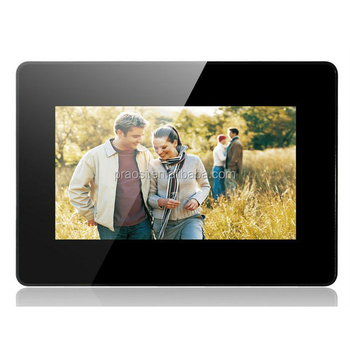 High Resilution Lcd Mirror Screen Fc Ce Digital Photo Frame 7 Inches