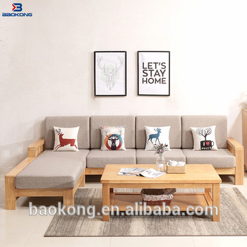 Living Room Furniture Corner Sofa Set