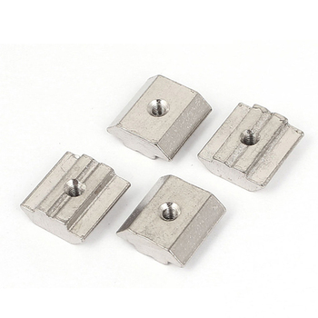 6mm, 8mm and 10mm Aluminum Profile Accessories, T Slot Nut