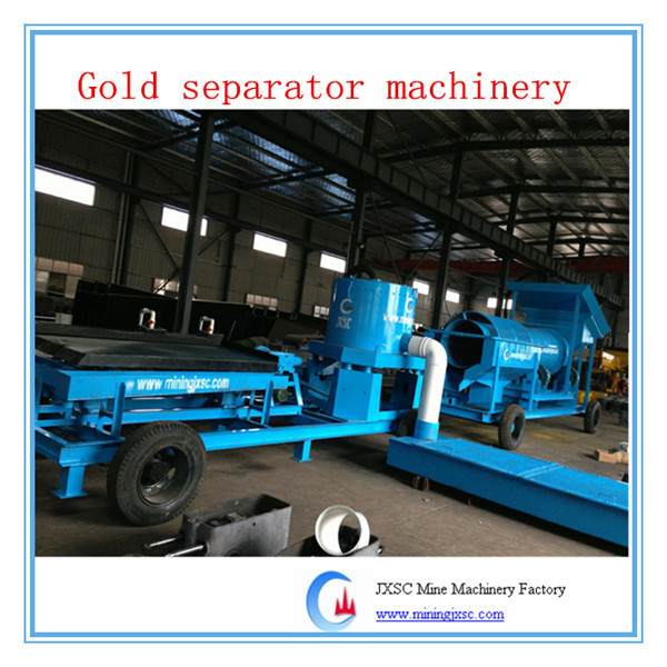Simple installation placer gold machine centrifugal concentrator