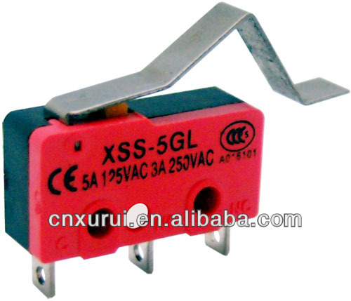 5A Micro interrupteur Long Levier SS-5GL-3 V4 Miniature SPDT résistant
