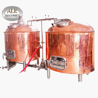 3BBL 5BBL 10BBL 15BBL 20BBL micro beer brewery fermentation equipment commercial brewing equipment