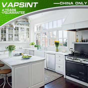 Luxury white coor shaker style diy kitchen cabinets buy for Acrylic vs wood kitchen cabinets