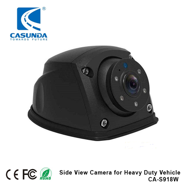 Excellent Wide Viewing Angle 140 degrees horizontal side view camera for Lorry, trailer, truck